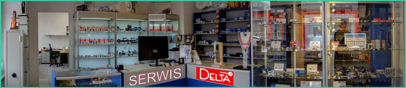 Sklep z zamkami Delta Gliwice